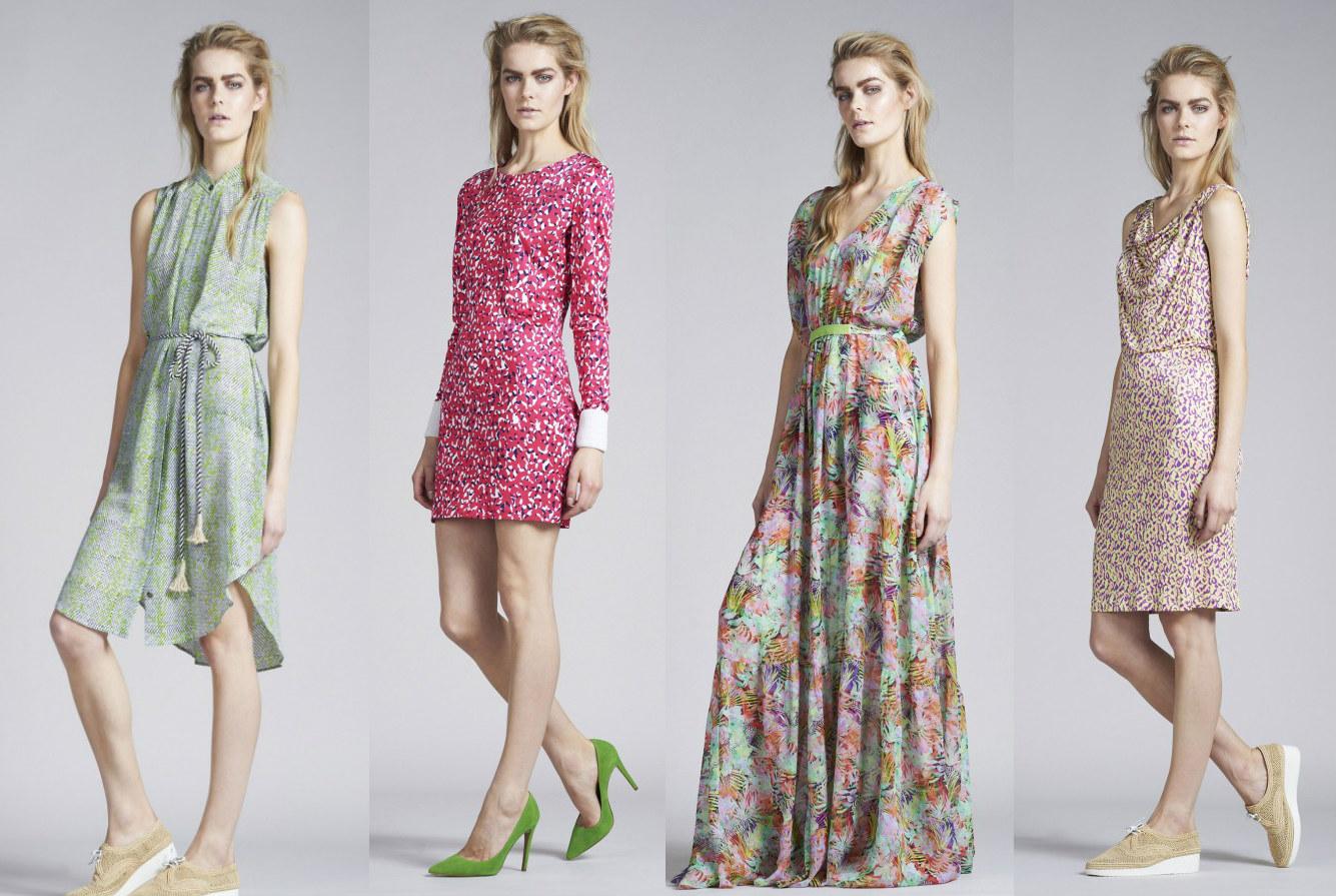 Новая коллекция летних платьев от Saloni Resort 2014