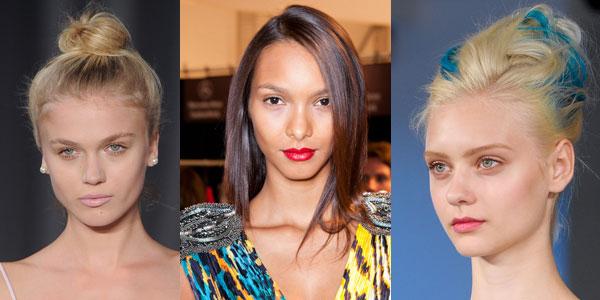 Модные тенденции причесок весна-лето 2013