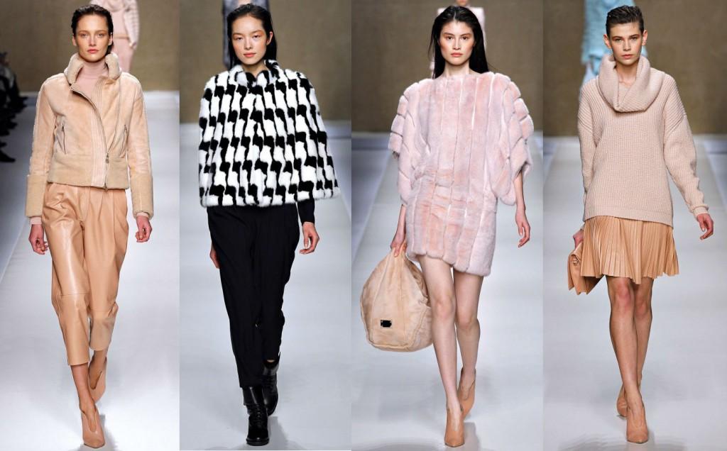Женская одежда Blumarine в коллекции Fall-Winter 2013-2014