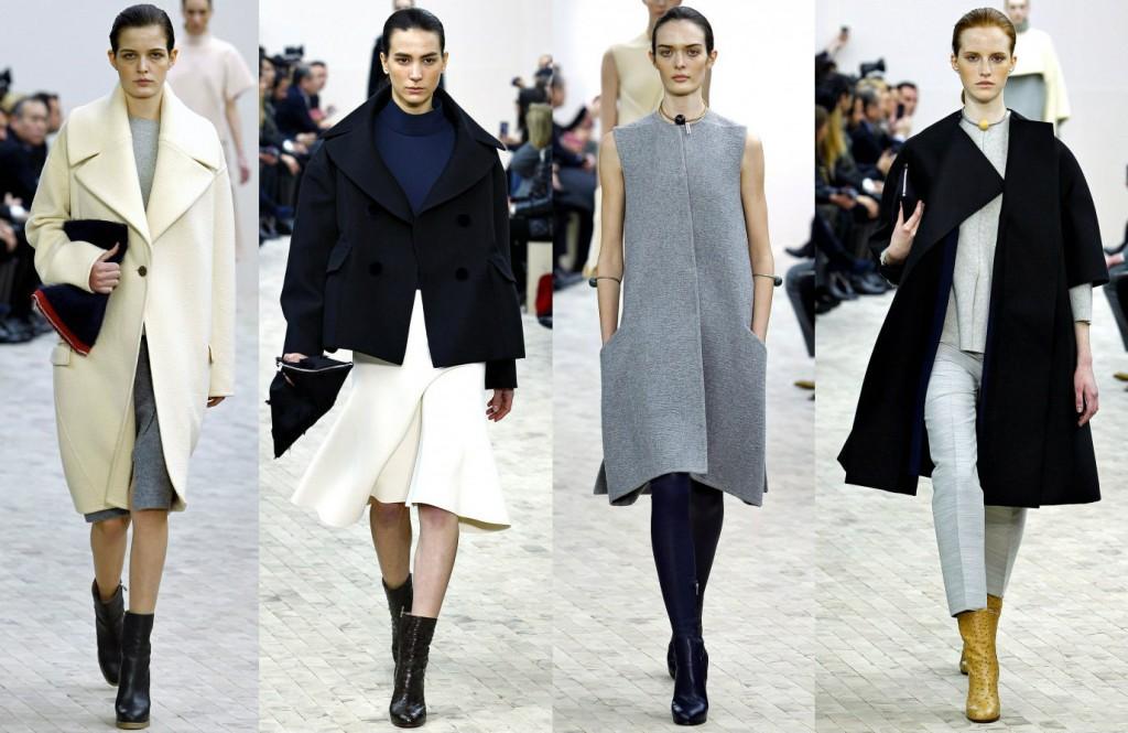 Модная одежда и обувь от Céline Осень-Зима 2013-2014