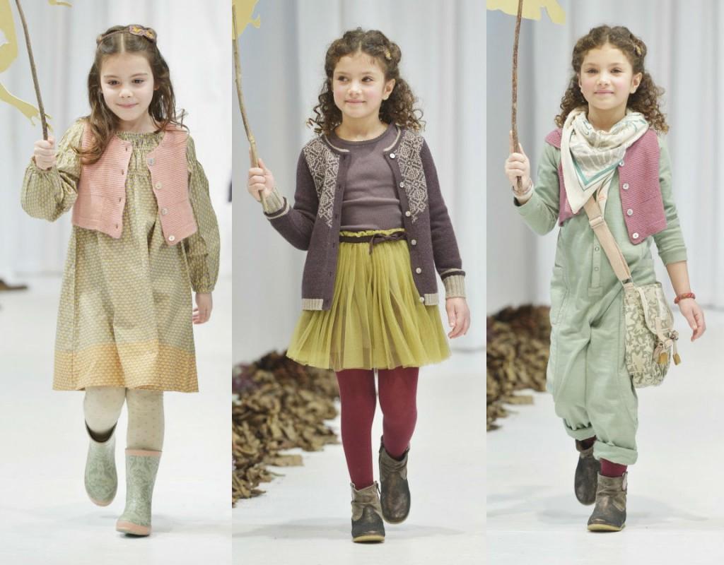 Красивая одежда для девочек от Noa Noa Miniature Fall-Winter 2013-2014