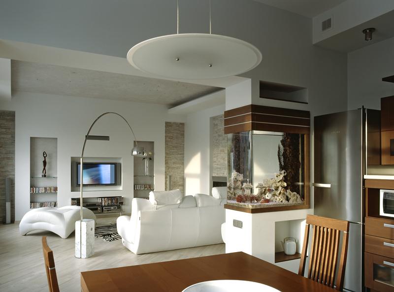 Как оживить дизайн белой комнаты
