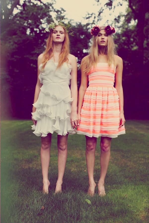 Красивые летние платья от Erin Fetherston 2014 года