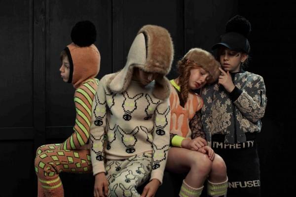 Детская вязаная одежда от Caroline Bosmans fall-winter 2013-2014