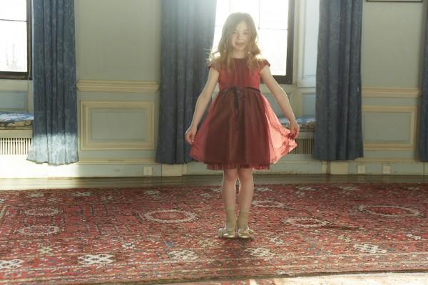 Нарядная детская одежда и обувь от Marie Chantal Fall-Winter 2013-2014