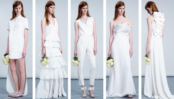 Коллекция свадебных платьев от Viktor & Rolf