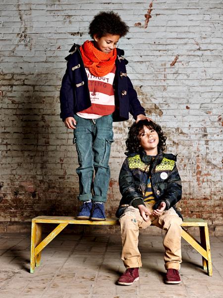 Стильная одежда для мальчиков от Scotch and Soda Осень-Зима 2013-2014