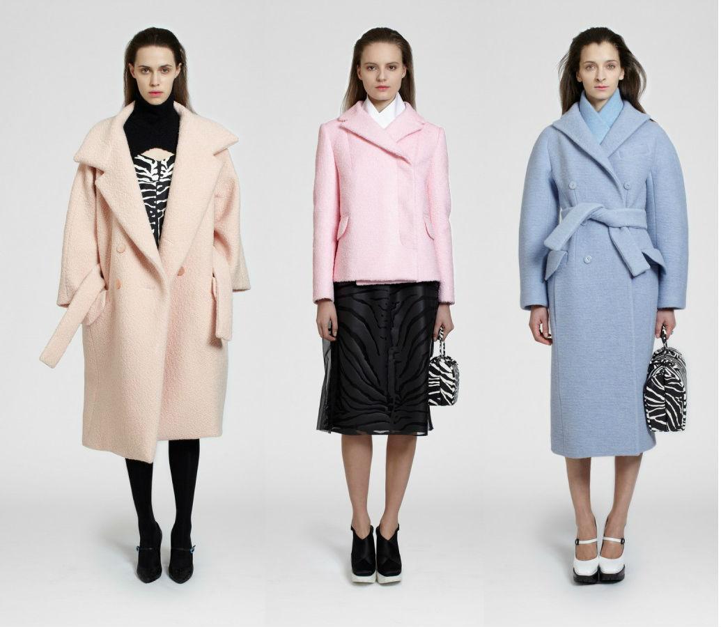 Женские пальто 2013-2014 от Carven