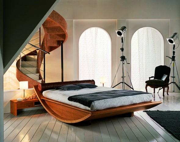 Спальные гарнитуры из массива