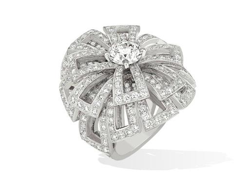 Свадебная коллекция украшений Chanel 2013-2014: Обручальные кольца