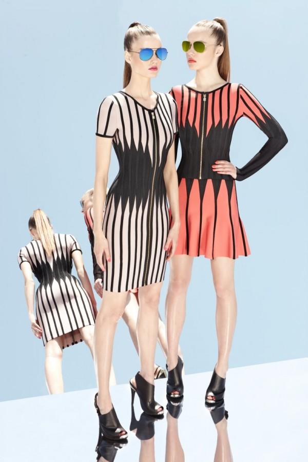 Бандажные платья Herve Leger от Max Azria 2013