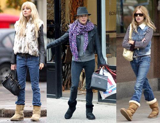С чем носить джинсы осенью-зимой 2013-2014