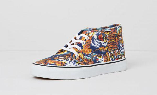 Обувь Vans с дизайном от Kenzo Fall-Winter 2013-2014