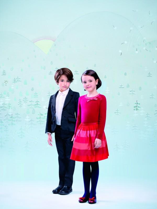 Нарядная одежда для детей Зима 2013-2014 от Jacadi