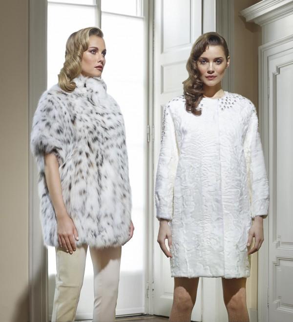 Шубы и меховые пальто 2014 года от Fabio Gavazzi