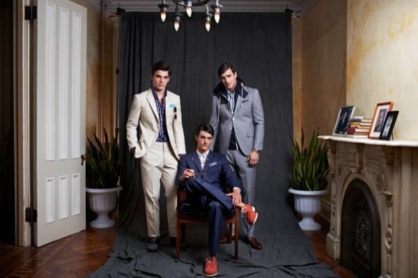 Коллекция мужской одежды от Haspel Весна-Лето 2014