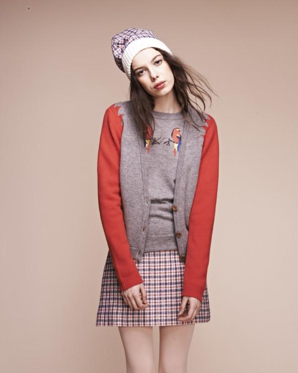 Осенняя коллекция женской одежды Lauren Moffat 2013-2014
