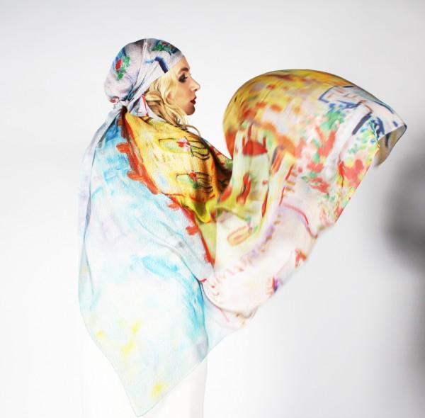 Женские шарфы 2013 года от ABOLONDON