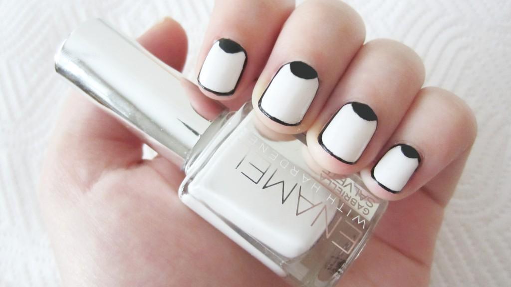 Примеры дизайна для коротких ногтей 2013