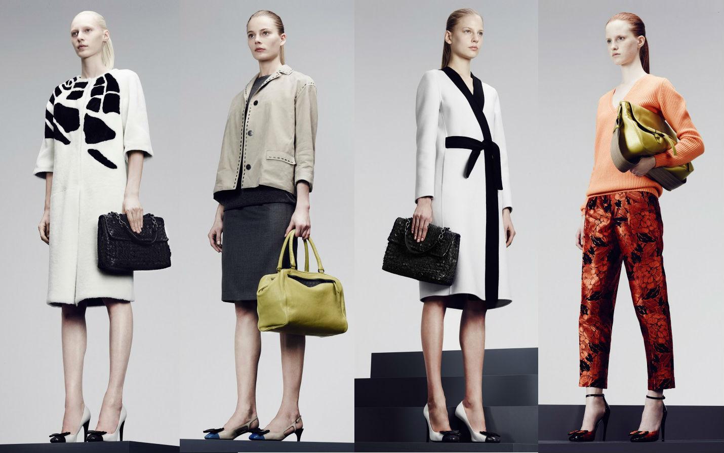 Женская брендовая одежда Bottega Veneta Коллекция Pre-Fall 2014