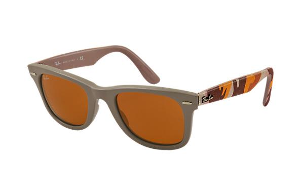 Коллекция солнцезащитных очков Ray-Ban с камуфляжным принтом