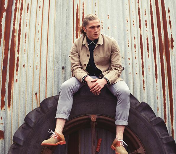 Каталог мужской одежды от Collective Noun Fall-Winter 2013-2014