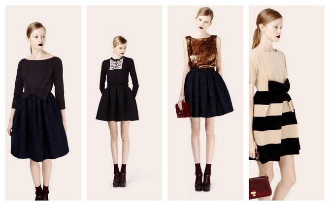 Модные зимние платья сезона Зима 2014