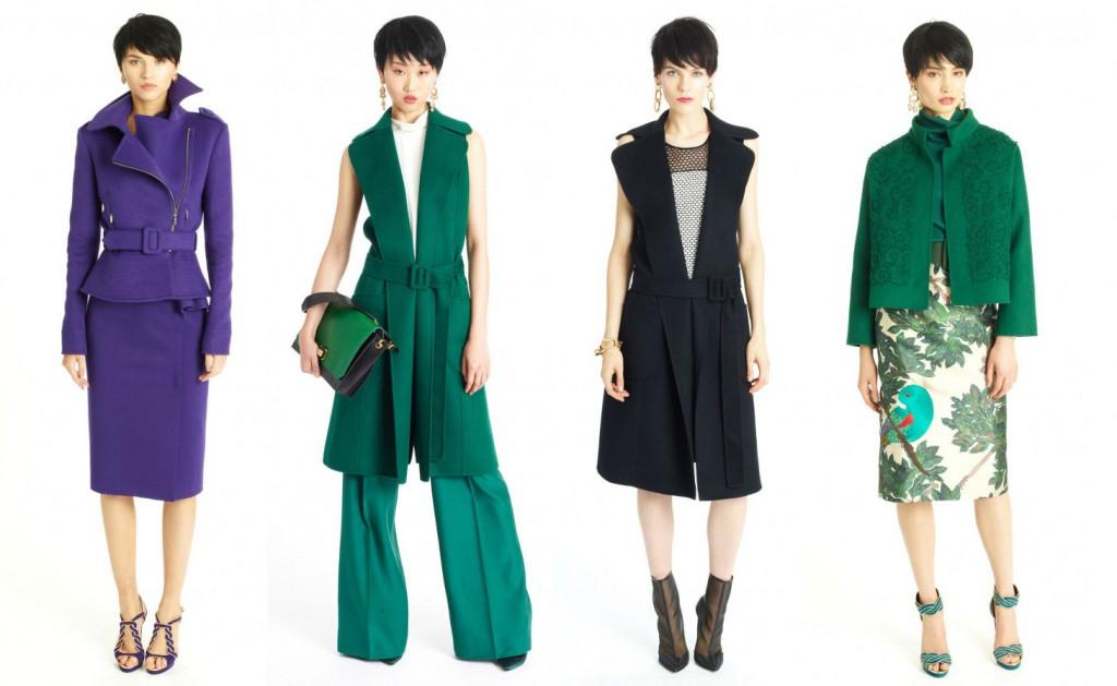 Каталог женской одежды от Oscar de la Renta на сезон Pre-Fall 2014
