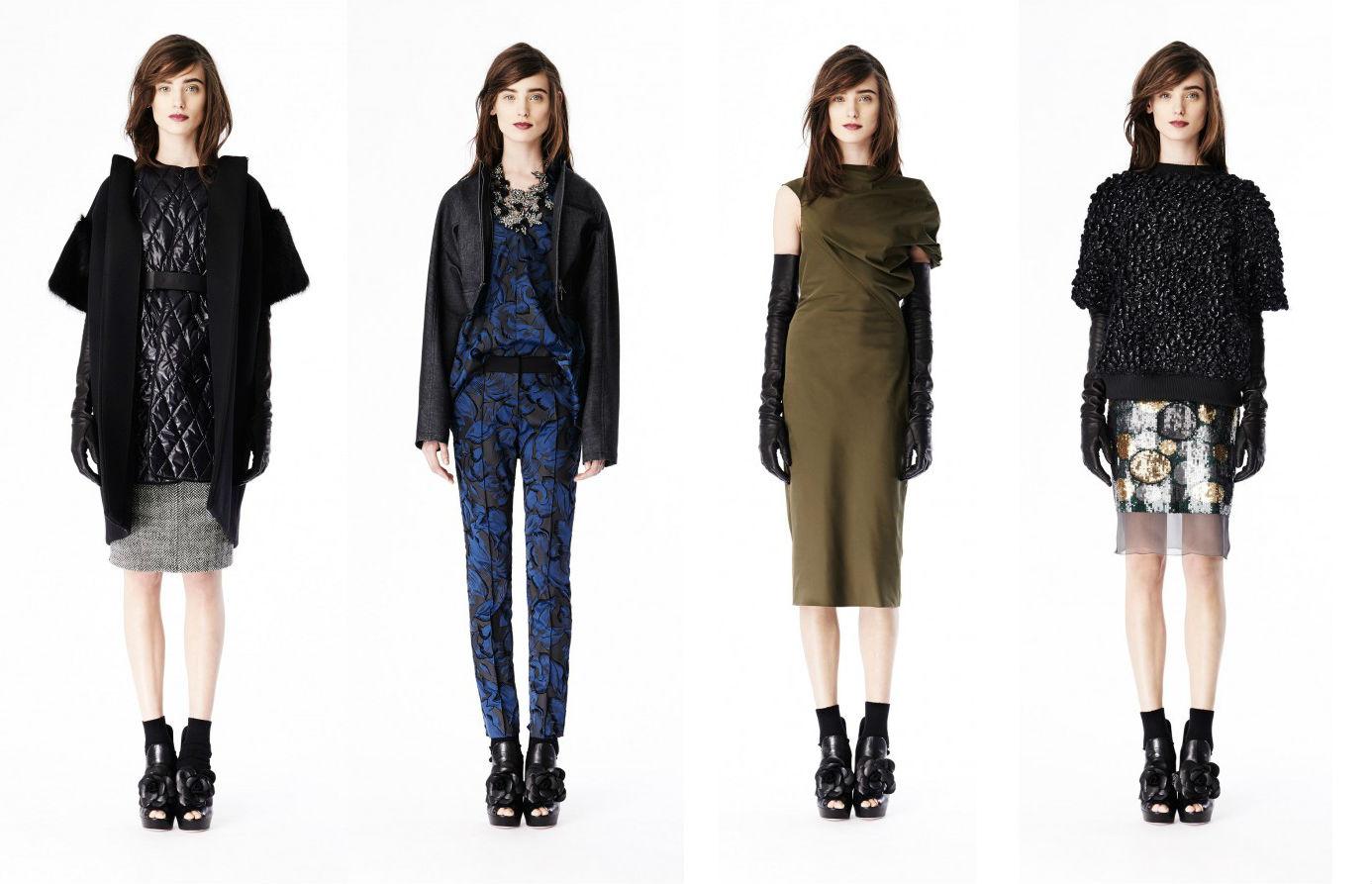 Vera Wang Коллекция женской одежды сезона Pre-Fall 2014
