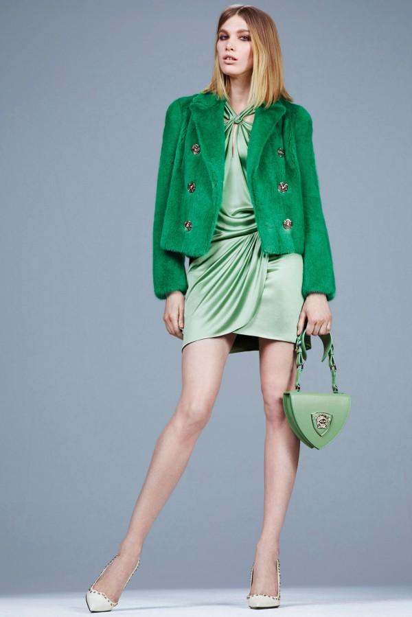 Новая коллекция женской одежды Versace Pre-Fall 2014