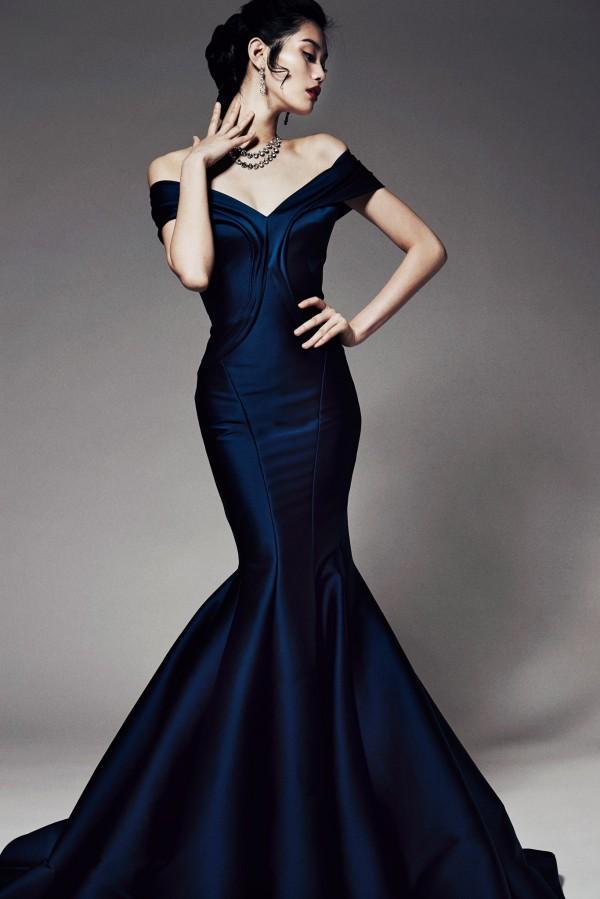 Шикарные вечерние платья от Zac Posen Pre-Fall 2014