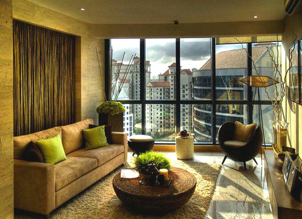 Современный дизайн гостиных комнат