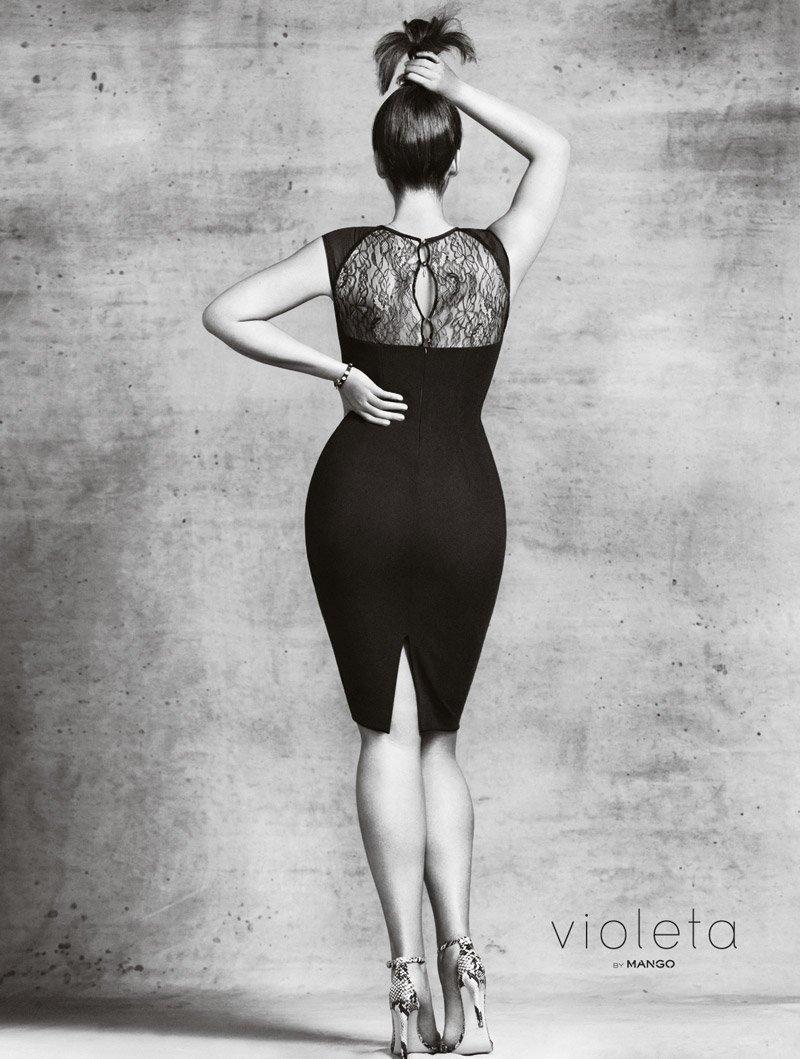 Каталог одежды размера Plus Size от Violeta by Mango
