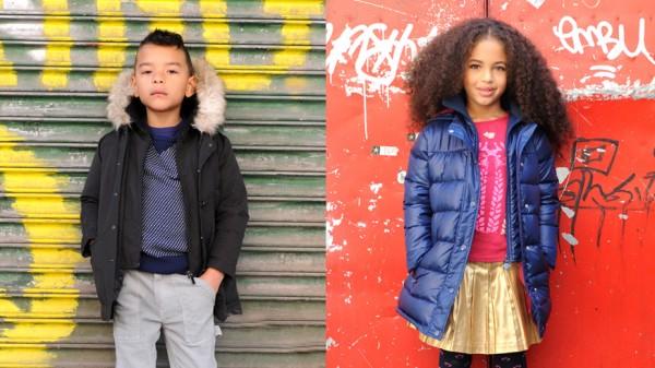 Стильная детская одежда на весну 2014 года