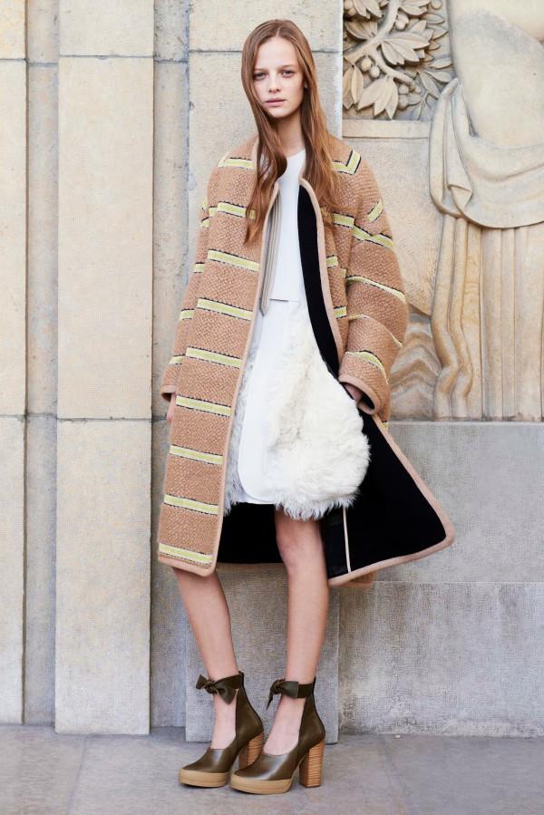 Коллекция женской одежды от Chloé Pre-Fall 2014