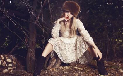 Модные меховые женские шапки на зиму 2014