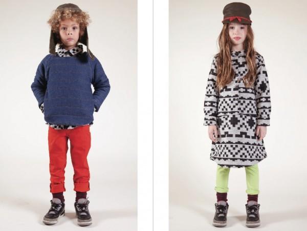 Этнический стиль в детской одежде от ESP No.1 на 2014 год