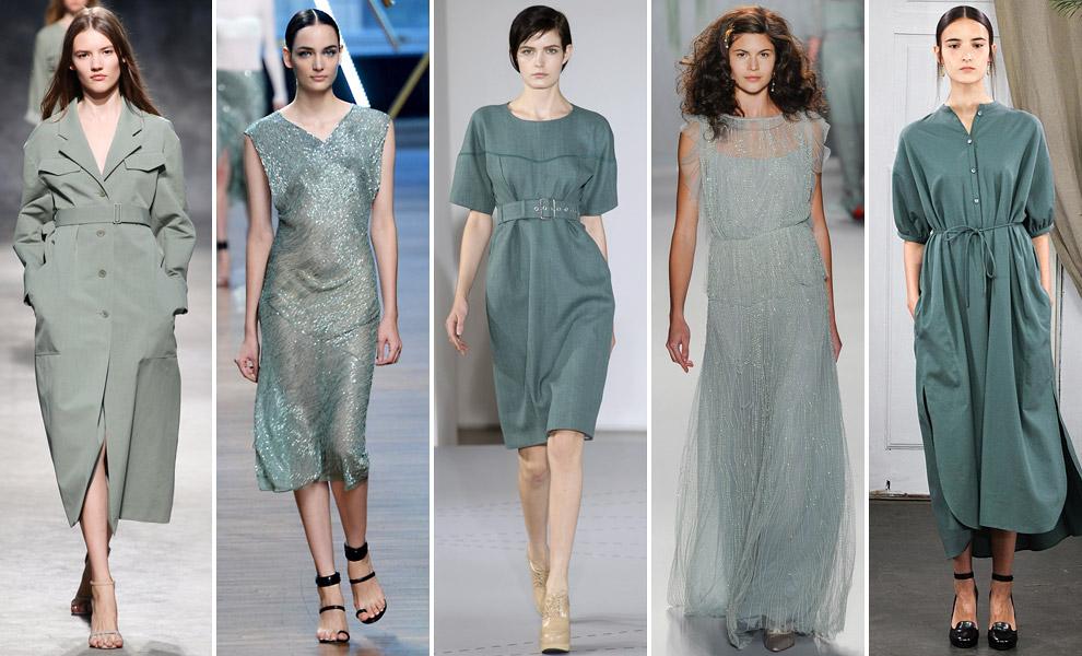 Модные цвета весны-лета 2014 года