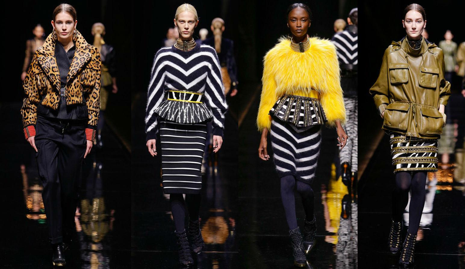 Коллекция женской одежды Balmain Fall-Winter 2014-2015