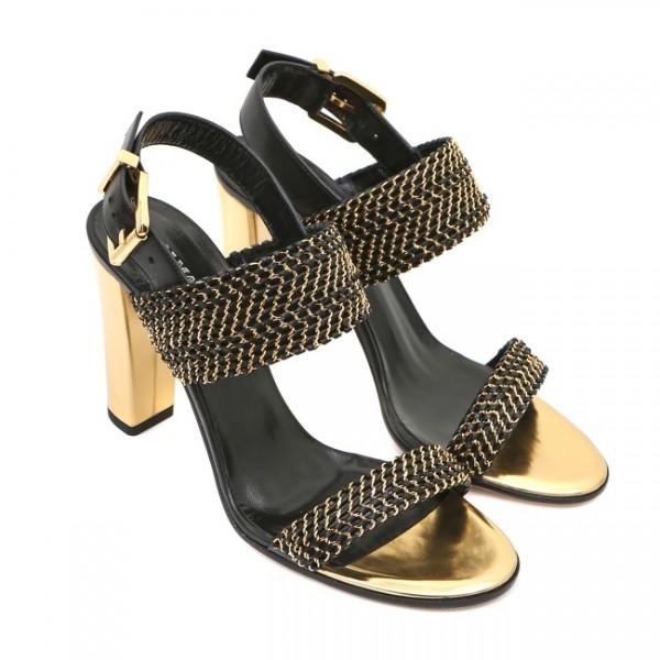 Коллекция женской обуви на весну-лето 2014 от Balmain