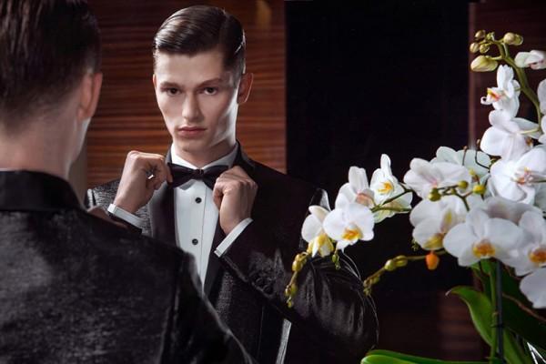 Элегантная мужская одежда от Dsquared2 на осень-зиму 2014-2015