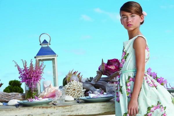 Детская одежда Monnalisa Линии Chic на весну-лето 2014 года