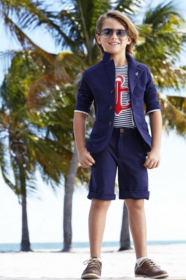 Одежда на весну-лето 2014 для мальчиков от Monnalisa