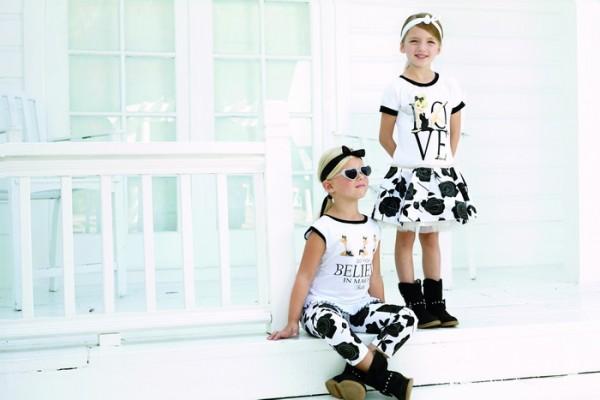 Модные детские образы на весну-лето 2014 от Monnalisa