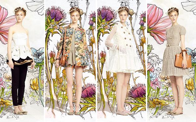 Платья на весну-лето 2014 от Red Valentino