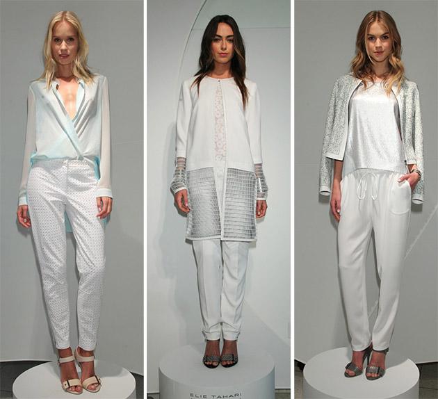 Модный белый цвет весны-лета 2014 года