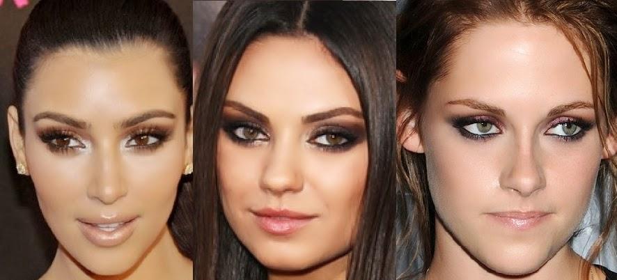 Безупречный макияж smokey eye 2014