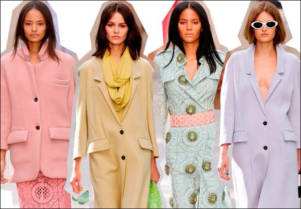 Модные модели пальто на весну-лето 2014 года