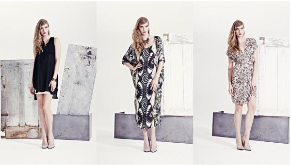 Готовые женские образы на весну-лето 2014 от Helena Fredriksson