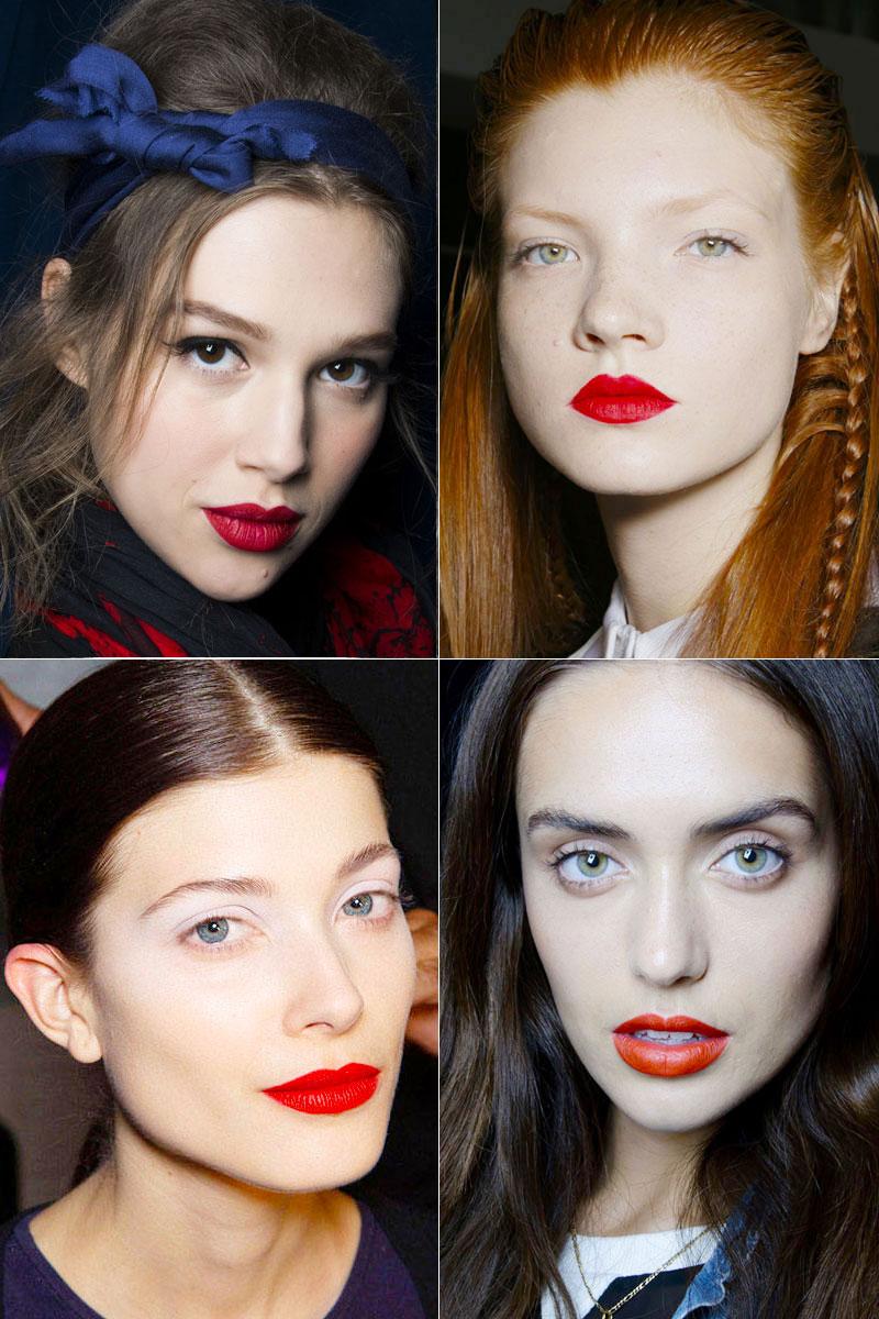Тренды в макияже и прическах на весну 2014 года